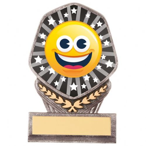 Falcon Emoji Happy Face Award 105mm